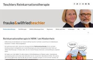 Webseite zur Reinkarnationstherapie